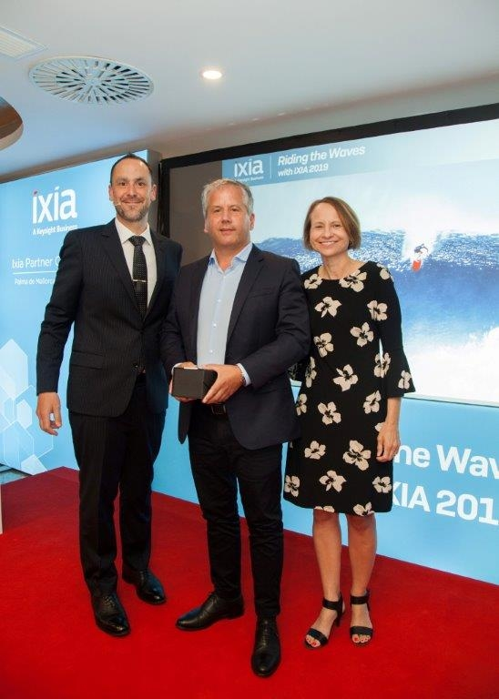 "IXIA Award ""European Strategic Enterprise Deal"""